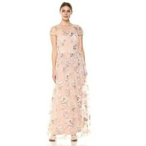 Alex Evenings Women's Embroidered Gown Maxi Dress